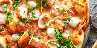 Cách bánh làm pizza hải sản tại nhà