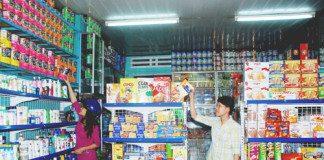 Cách bố trí cửa hàng tạp hóa hút khách