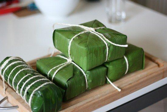 Các món ăn ngày tết dễ làm ở miền Trung - Bánh chưng bánh tét