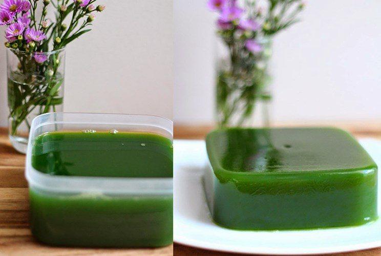 Cách làm trà sữa matcha - thạch trà xanh