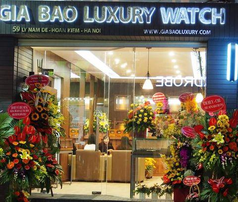 Showroom Gia Bảo Luxury Watch tại 59 Lý Nam Đế