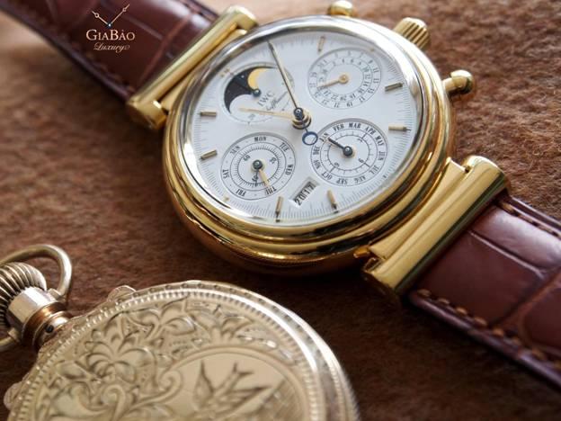 đồng hồ IWC Davinci Vạn niên IW 3750