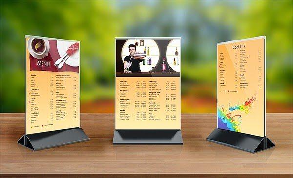 Ý tưởng thiết kế menu cafe độc đáo cho quán