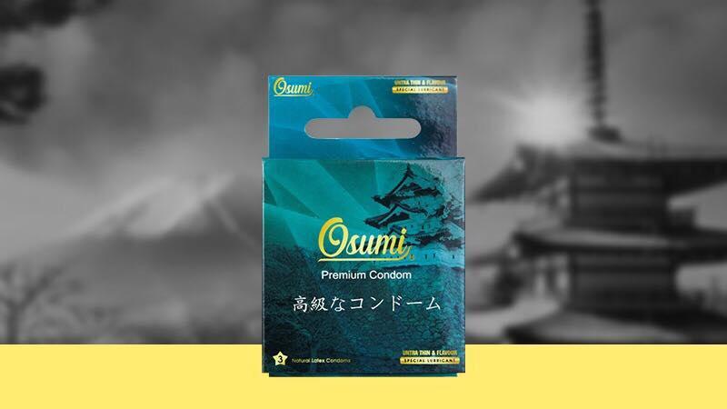 Bao cao su Osumi siêu mỏng và có gai