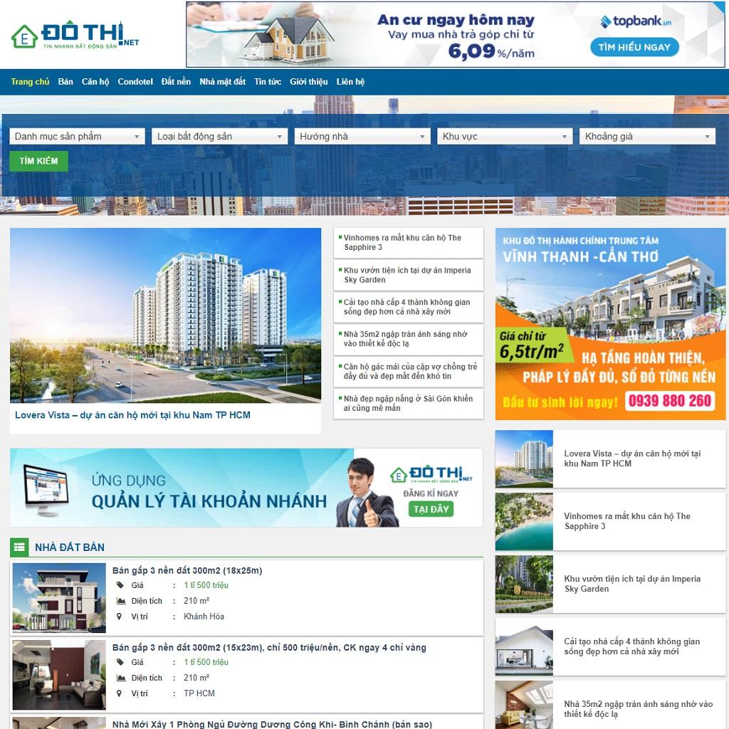 Các thông tin tại dothi.net luôn được cập nhật chính xác theo từng giờ, theo ngày một cách chi tiết nhất từ các chuyên gia giỏi về chuyên môn trong lĩnh vực bất động sản.